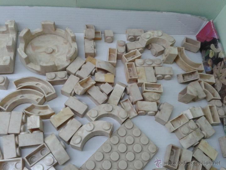 Juguetes antiguos Exin: LOTE DE 165 PIEZAS VARIADAS EXIN CASTILLOS ORIGINAL AÑOS 70 80 ACCESORIOS DE CONSTRUCCION - Foto 3 - 270608533