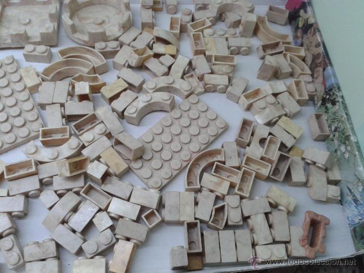 Juguetes antiguos Exin: LOTE DE 165 PIEZAS VARIADAS EXIN CASTILLOS ORIGINAL AÑOS 70 80 ACCESORIOS DE CONSTRUCCION - Foto 4 - 270608533