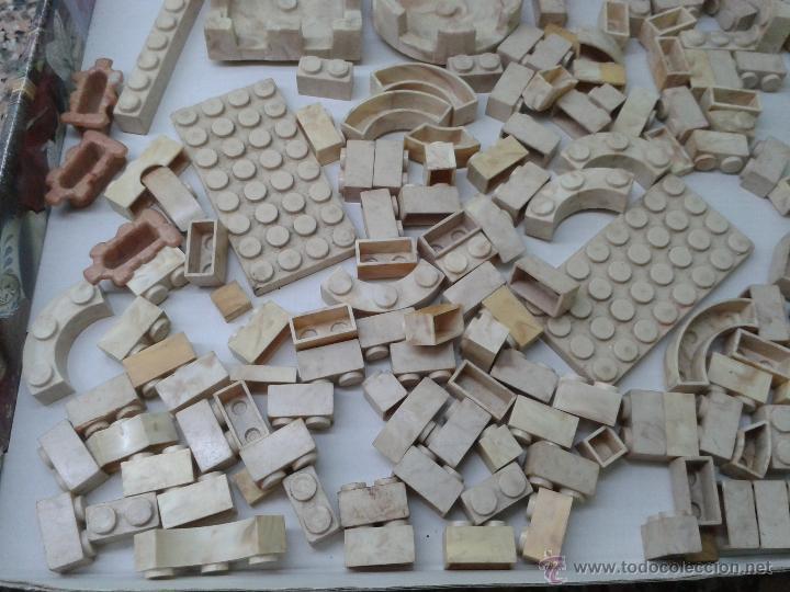 Juguetes antiguos Exin: LOTE DE 165 PIEZAS VARIADAS EXIN CASTILLOS ORIGINAL AÑOS 70 80 ACCESORIOS DE CONSTRUCCION - Foto 5 - 270608533