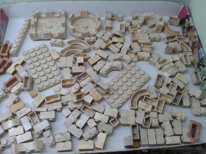 Juguetes antiguos Exin: LOTE DE 165 PIEZAS VARIADAS EXIN CASTILLOS ORIGINAL AÑOS 70 80 ACCESORIOS DE CONSTRUCCION - Foto 6 - 270608533