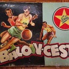 Juguetes antiguos Exin: BALONCESTO EXIN BASKET. Lote 47671004