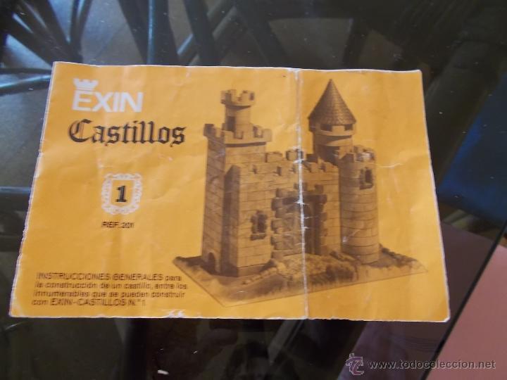 Juguetes antiguos Exin: EXIN CASTILLOS SERIE AZUL Nº 1 EN CAJA.SOLO FALTA FANTASMA BAJO.REF.201 BUEN ESTADO AÑOS 70.PTOY. - Foto 15 - 45995285