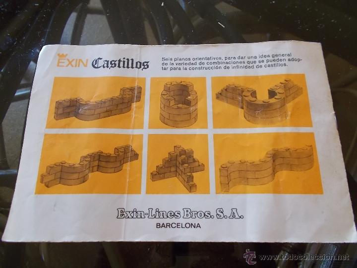 Juguetes antiguos Exin: EXIN CASTILLOS SERIE AZUL Nº 1 EN CAJA.SOLO FALTA FANTASMA BAJO.REF.201 BUEN ESTADO AÑOS 70.PTOY. - Foto 17 - 45995285
