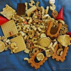 Juguetes antiguos Exin: LOTE PIEZAS EXIN CASTILLOS. Lote 47846987