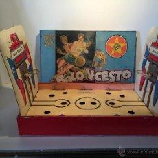 Juguetes antiguos Exin: JUEGO BALONCESTO EXIN. JUEGOS DE MESA AÑOS 50.. Lote 47984673