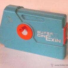 Juguetes antiguos Exin: SUPER CINE EXIN AZUL. Lote 48356787
