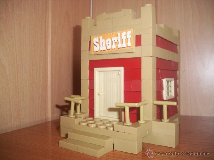 EXIN CASTILLOS: EXIN WEST SHERIFF COMPLETO (Juguetes - Marcas Clásicas - Exin)