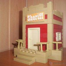 Juguetes antiguos Exin: EXIN CASTILLOS: EXIN WEST SHERIFF COMPLETO . Lote 48407112