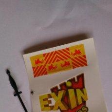 Juguetes antiguos Exin: MASTIL Y BANDERA EXIN CASTILLOS. Lote 148121029