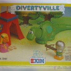 Juguetes antiguos Exin: EXIN, DIVERTYVILLE, REF 0141, EN CAJA. CC. Lote 49629964