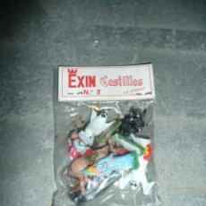 Juguetes antiguos Exin: FIGURAS EXIN CASTILLOS N.2 EN BLISTER A ESTRENAR. Lote 49650172