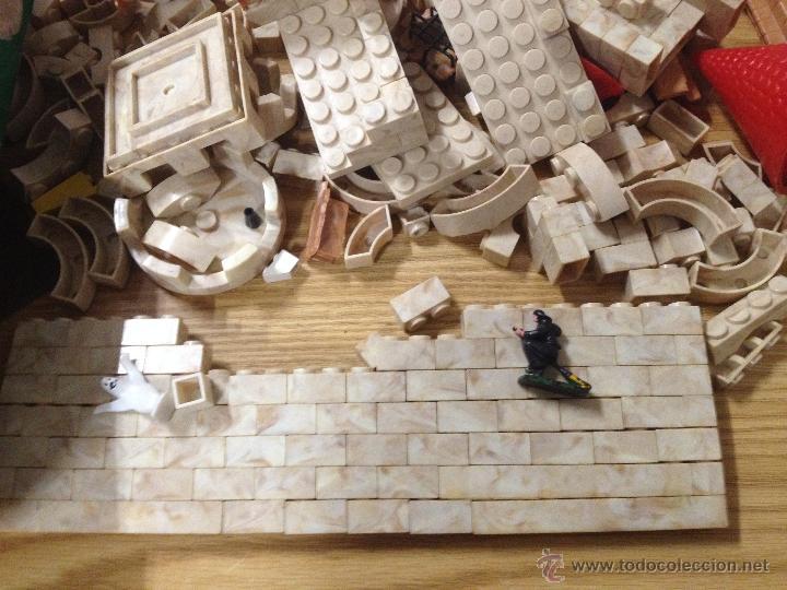 Juguetes antiguos Exin: ANTIGUO JUGUETE CONSTRUCCION EXIN CASTILLOS SERIE AZUL Nº 1 I EN CAJA ORIGINAL. - Foto 7 - 52636261