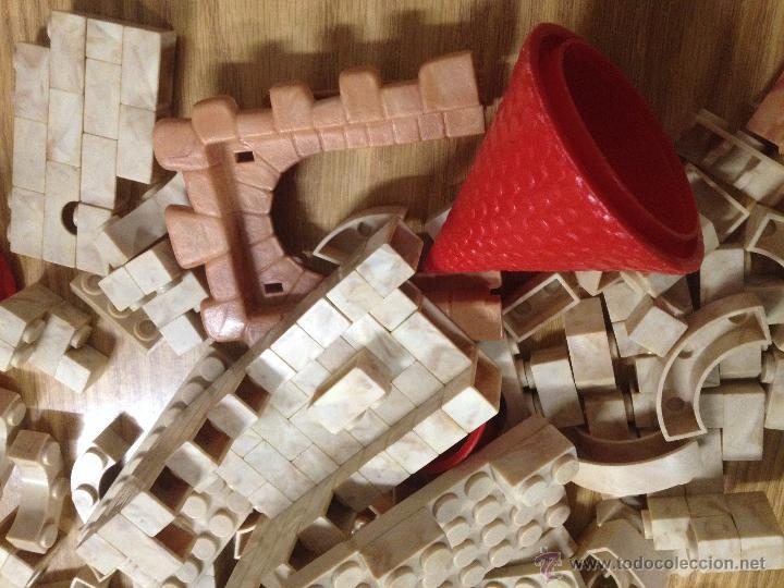 Juguetes antiguos Exin: ANTIGUO JUGUETE CONSTRUCCION EXIN CASTILLOS SERIE AZUL Nº 1 I EN CAJA ORIGINAL. - Foto 8 - 52636261