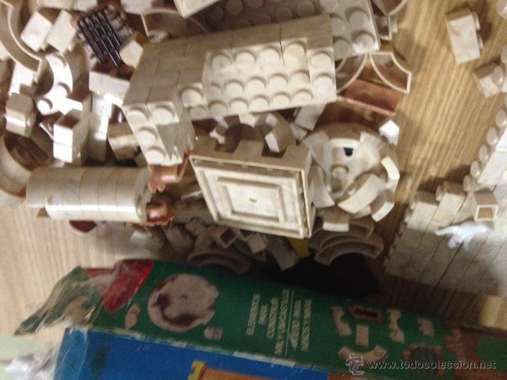 Juguetes antiguos Exin: ANTIGUO JUGUETE CONSTRUCCION EXIN CASTILLOS SERIE AZUL Nº 1 I EN CAJA ORIGINAL. - Foto 9 - 52636261