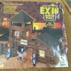 Juguetes antiguos Exin: EXIN WEST FORT FRONTIER NUEVO SIN USO. Lote 52717744