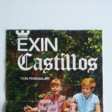 Juguetes antiguos Exin: CATALOGO ORIGINAL EXIN/CASTILLOS.. Lote 53272645