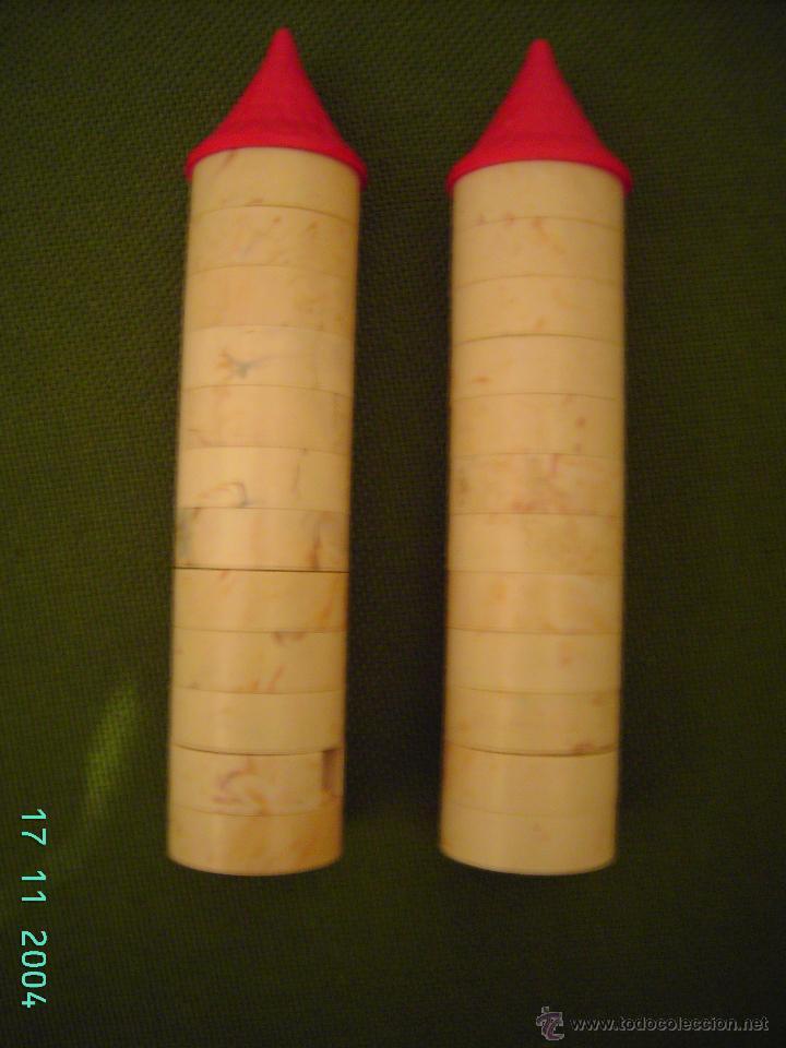Juguetes antiguos Exin: DOS TORRES PEQUEÑAS DE EXIN CASTILLOS DE PDJ. - Foto 2 - 53540535