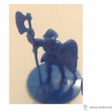 Juguetes antiguos Exin: EXIN CASTILLOS - GUERRERO AZUL --------- (REF-HAMIMU1CEORARRCAZATE). Lote 53577544
