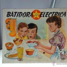 Brinquedos antigos Exin: BATIDORA ELECTRICA EXIN - MODELO INFANTIL - CON INSTRUCCIONES Y CAJA ORIGINAL. Lote 53978700