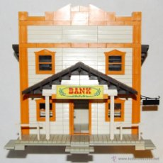 Juguetes antiguos Exin: EXIN WEST - BANK COMPLETO . Lote 54209926