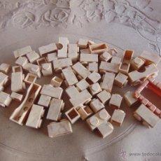 Juguetes antiguos Exin: LOTE DE PIEZAS EXIN CASTILLOS ORIGINAL EXIN. Lote 54341339