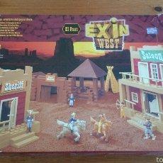 Juguetes antiguos Exin: EXIN WEST EL PASO DE POPULAR DE JUGUETES. Lote 54508449