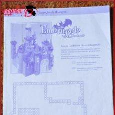 Juguetes antiguos Exin: EXIN CASTILLOS - POPULAR DE JUGUETES - CASTILLO EMBRUJADO - INSTRUCCIONES DE MONTAJE. Lote 54624343