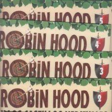 Juguetes antiguos Exin: ROBIN HOOD Y LOS CASTILLOS MEDIEVALES, Nº 1 AL 60 ( COMPLETA A FALTA Nº 37 ). Lote 55098799