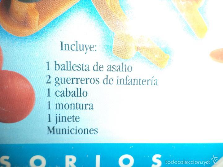 Juguetes antiguos Exin: Exin Castillos.Ballesta de Asalto. - Foto 3 - 58091597