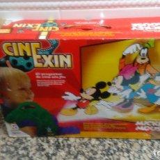 Giocattoli antichi Exin: PROYECTOR CINEXIN Y 2 PELICULAS VER FOTOS. Lote 64740327