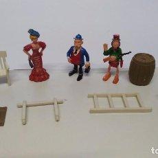 Juguetes antiguos Exin: ANTIGUAS FIGURAS EXIN WEST ORIGINALES . Lote 67472433