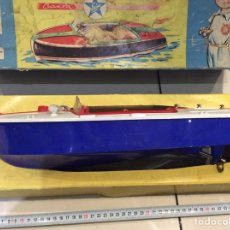 Brinquedos antigos Exin: CANOA EXIN CHRIS CRAFT FUNCIONANDO. Lote 70428295
