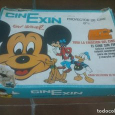 Juguetes antiguos Exin: CINE EXIN NARANJA EN CAJA EL PRIMERO CAJA AZUL AÑOS 70. Lote 73593259