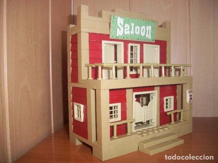 Juguetes antiguos Exin: EXIN CASTILLOS / EXIN WEST : SALOON - Foto 3 - 195206113