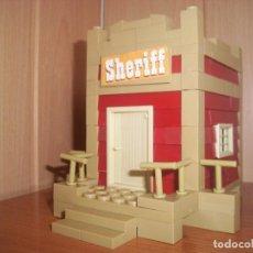 Juguetes antiguos Exin: EXIN CASTILLOS / EXIN WEST : OFICINA DEL SHERIFF. Lote 73927223