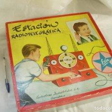 Juguetes antiguos Exin - Estación Radiotelegráfica Exin, incompleta, con caja, años 60. - 75286479