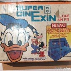 Juguetes antiguos Exin: CAJA DEL SUPER CINEXIN DE EXIN. Lote 75413075