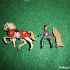 Juguetes antiguos Exin: FIGURAS EXIN CASTILLOS ORIGINAL. Lote 75514143