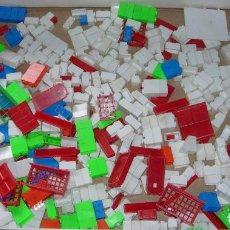 Juguetes antiguos Exin: LOTE PIEZAS ARQUITECTURA EXIN - EXIN BLOK - BLOC - BLOCK - CASTILLOS. Lote 54451173