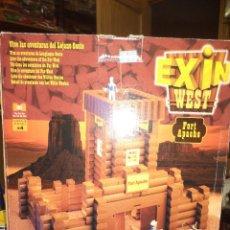 Juguetes antiguos Exin: EXIN WEST.FORT APACHE.POPULAR DE JUGUETES. Lote 124594290