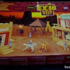 Juguetes antiguos Exin: EXIN WEST EL PASO POPULAR JUGUETES REF. P01372 COMPLETO. Lote 77426061