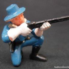 Brinquedos antigos Exin: EXIN WEST ORIGINAL FIGURA PERSONAJE OESTE, SOLDADO SÉPTIMO CABALLERÍA. Lote 81110163