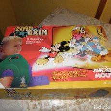 Juguetes antiguos Exin: CINEXIN POPULAR DE JUGUETES CON DOS PELICULAS. Lote 82117716