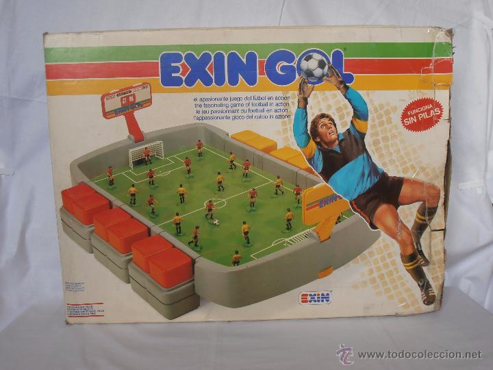 EXIN GOL REF. 0170 EXIN CAJA ORIGINAL (Juguetes - Marcas Clásicas - Exin)