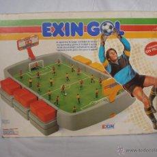 Juguetes antiguos Exin: EXIN GOL REF. 0170 EXIN CAJA ORIGINAL . Lote 84445112
