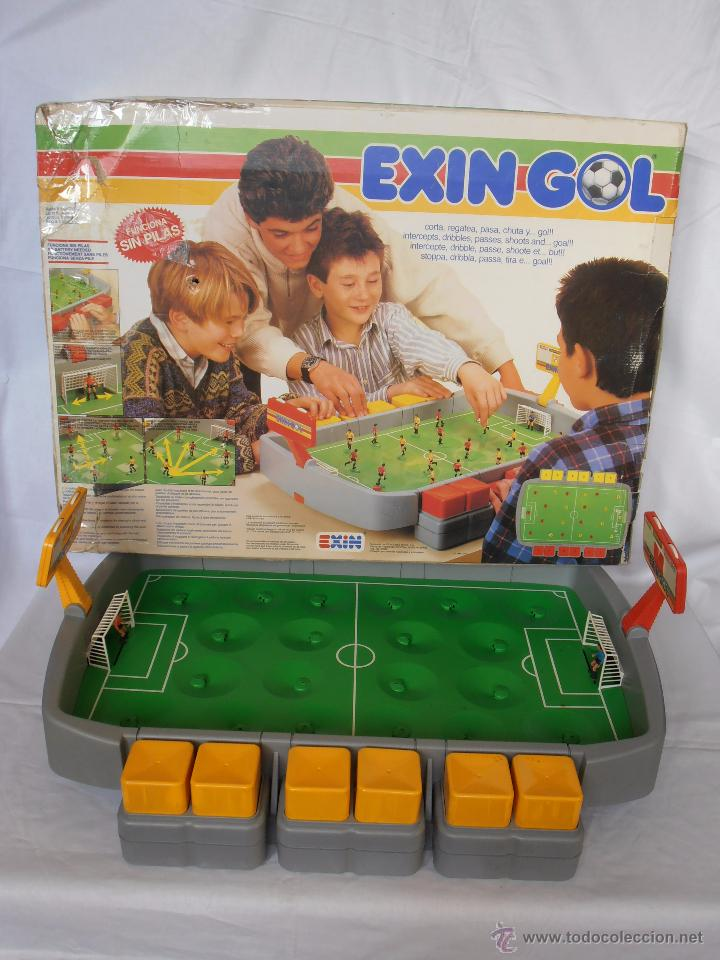 Juguetes antiguos Exin: EXIN GOL REF. 0170 EXIN CAJA ORIGINAL - Foto 2 - 84445112