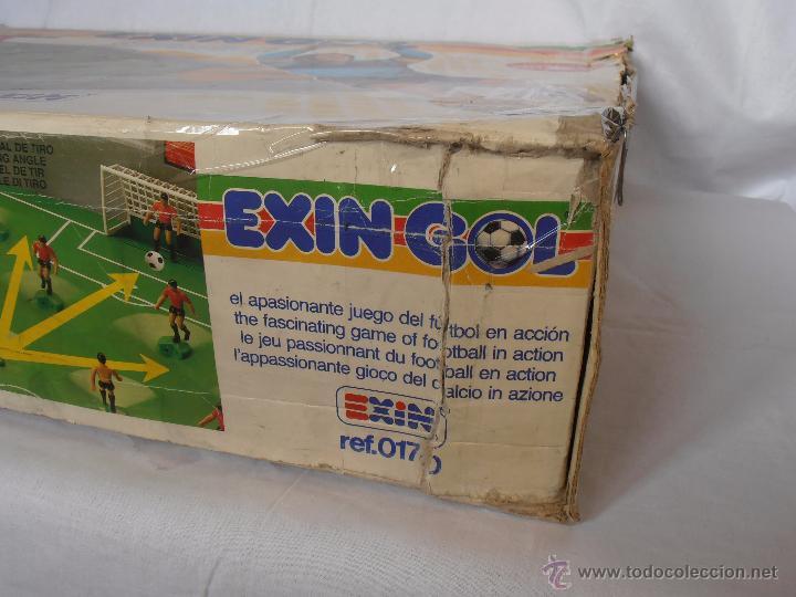 Juguetes antiguos Exin: EXIN GOL REF. 0170 EXIN CAJA ORIGINAL - Foto 7 - 84445112