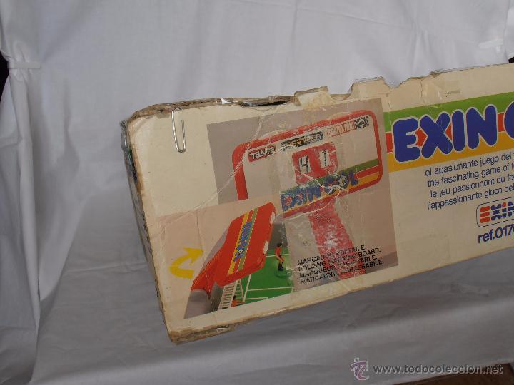 Juguetes antiguos Exin: EXIN GOL REF. 0170 EXIN CAJA ORIGINAL - Foto 9 - 84445112
