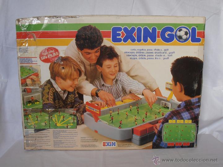 Juguetes antiguos Exin: EXIN GOL REF. 0170 EXIN CAJA ORIGINAL - Foto 11 - 84445112