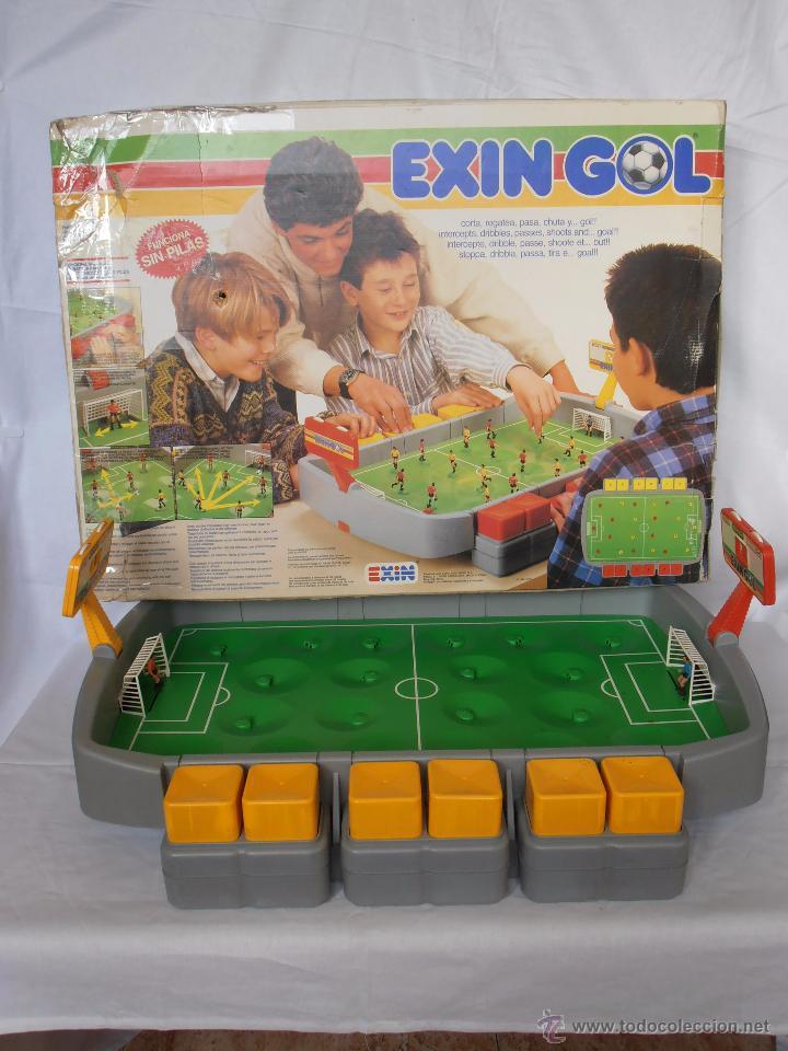 Juguetes antiguos Exin: EXIN GOL REF. 0170 EXIN CAJA ORIGINAL - Foto 12 - 84445112